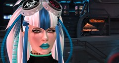 new look Mimic_Cyber (elle.lew69) Tags: cyber secondlife headpics greeneyes