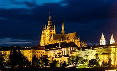 Prague Castle at night (Daniel Poon 2012) Tags: prague hlavníměstopraha czechia cz