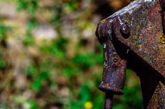 Óxido (Walimai.photo) Tags: óxido rust metal pueblo village cáceres españa spain granadilla nikon d7000 helios 44m4 detail detalle bokeh desenfoque