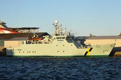 Minnia - Leith - 13-01-19 (MarkP51) Tags: minnia portofleith leith scotland fisherypatrolvessel ship boat vessel nikon d7200 sunshine sunny maritimephotography nikon24120f4vr