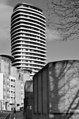 Lombard Wharf / SW11 (Images George Rex) Tags: 9c7ff9028a444f828ea143030421b064 london wandsworth uk pateltaylor barrattlondon apartments tower residential architecture blackandwhite bw monochrome holmanroad lombardroad england photobygeorgerex unitedkingdom britain imagesgeorgerex