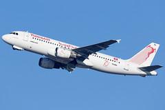 TS-IMH 20012019 (Tristar1011) Tags: bru ebbr brusselsairport tunisair airbus a320200 a320 tsimh alibelhaouane