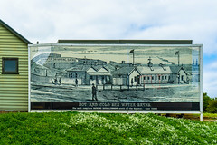 The good old days - billboard/sign outside the Warrnambool museum (Peter.Stokes) Tags: australia australian coast colour landscape nature outdoors photo photography victoria warnambool