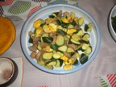 sauteed zucchini and chicken (Danny / ixfd64) Tags: ixfd64 nikon coolpix food