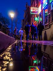 A0153232 (rpajrpaj) Tags: amsterdam city netherlands nederland nederlandvandaag bluehour thebluehour street streetphotography
