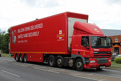 Royal Mail PE63 MKF, DAF CF at Ashchurch (majorcatransport) Tags: royalmail daf ashchurch dafcf