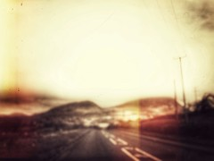 a destination. of sorts. (Pea Jay How) Tags: snowdonia soft blurred blur travel journey road wales hills hill mountains mountain