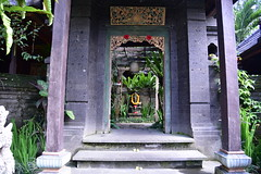 As such, I could appreciate the temple like entrance only the following morning (shankar s.) Tags: seasia indonesia java bali islandparadise baliisland touristdestination hotel lodgings accomodation resort entrance blissubudspaandbungalow ubudbali reception steps