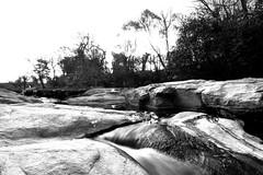 Flowing - Fluyendo (Andrés Luis Muñoz) Tags: river rio water agua blackandwhite blancoynegro bw monochrome monocromo nature outdoor exterior nikon d610 tokina1116 argentina cordoba