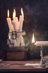 """""""Gotas de cera"""" (mariajoseuriospastor) Tags: ceradevela vela candle stilllife"""
