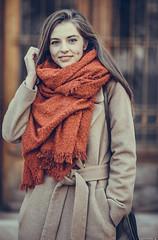 Irina (Vagelis Pikoulas) Tags: girl woman portrait canon 6d sigma art f14 bokeh beautiful beauty romania europe december winter 2018