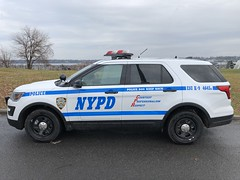 NYPD Emergency Service Unit K-9 Ford Explorer Police Interceptor Utility RMP #4645. (Finest 3100) Tags: queens radiomotorpatrol specialoperationsdivision emergencyserviceunit emergencyserviceunitk9 nypd