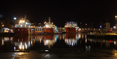 Aberdeen Harbour at Night - IMG_2623 - Edited (406highlander) Tags: aberdeenharbour water ship ships marine boat vessel northsea aberdeen scotland night reflection reflections canonef50mmf18stm canoneos6d harbour quay dock ripple wave