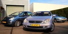 Citroën Xsara Picasso 1.6i / C5 3.0i V6 Exclusive / 2.0i Ligne Prestige (Skylark92) Tags: nederland netherlands holland brabant noordbrabant heusden heesbeen citroënforum najaarsmeeting citroën c5 20i ligne prestige 37pprp 2004 onk car road xsara picasso 16i 21kzl9 2005 30i v6 exclusive 84jzrt 2002