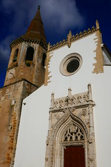 Church of St. John the Baptist (Nick_Leonard) Tags: tomar portugal europe westerneurope travel 2019 church tower christianity