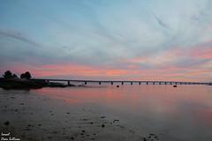 Puente de la isla de arosa (Ismael Owen Sullivan) Tags: nikon nature naturaleza natural sky cielo azul d5300 digital foto fotografia photography españa europa europe art galicia sun sunset sea largaexposicion water ocean oceano