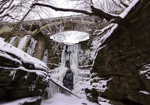 Freezing Lake Falls