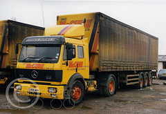 G284AHN MERCEDES POWERLINER 2 1735 (Mark Schofield @ JB Schofield) Tags: jim taylor transport road commercial vehicle lorry truck wagon tipper tanker artic eight wheeler haulage contractor bulk haulier tractor unit freight hgv lgv