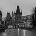 Rainy Morning on Charles Bridge