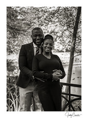 straightforward portraiture (cornelis1980) Tags: couple pregnant expecting maternity photoshoot fall trees leafs forest park smile happiness monochrome warm tones photography image picture photo fujifilm
