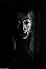 Mask (vmonk65) Tags: nikon nikond810 sigma museumfürvölkerkunde museumofethnologyhamburg bw blackwhite blackandwhite maske mask indianischemaske