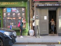 Space Invader LDN_071 (tofz4u) Tags: london londres uk angleterre unitedkingdom streetart artderue invader spaceinvader spaceinvaders mosaïque mosaic tile ldn071 ldn71 street rue people reactivationteamuk spacerescueintl reactivated restauré newsagent beers wines pies pub
