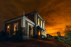 La vieja estación (Fernando Guerra Velasco) Tags: night nocturna lightpainting estación urbex decay longexpo