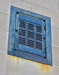 Vault Alarm, Lewiston, ME (Robby Virus) Tags: lewiston maine me vault alarm burglar safe bank banking depositors trust company