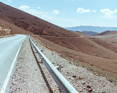 Road Through the High Atlas (jbrad1134) Tags: road winding rail mountains brown atlas streets rocks roadtrip morocco scenery wild trip adventure travel car driving