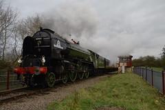 Back on Track (davidvines1) Tags: railroad rail railway nvr nenevalley steam locomotive train tornado 60163 engine