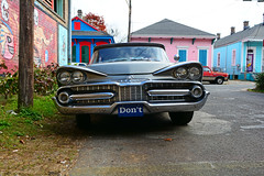 Don't (davidwilliamreed) Tags: dodge auto automobile grill chrome twinheadlights neworleansla