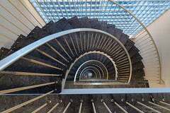 Stairwell - Explored Jan 07, 2019 (Frank Guschmann) Tags: treppe treppenhaus staircase stairwell escaliers stairs stufen steps architektur frankguschmann nikond500 d500 nikon