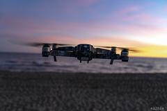 segurdecalafell_20181223_2031 (Kilian Ubeda Cano) Tags: segur calafell tarragona vendrell playa beach mar agua water sand arena dron drone dji mavic sony a7 atardecer sunset