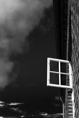 Un peu d'air (cactus2016) Tags: noiretblanc fenêtres windows blackandwhite minimalisme absoluteblackandwhite blackwhitepassionaward