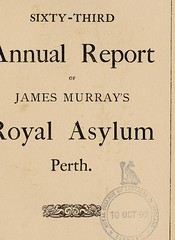 This image is taken from The sixty-third annual report of James Murray's Royal Asylum Perth (Medical Heritage Library, Inc.) Tags: james murrays royal asylum for lunatics hospitals psychiatric perthshire scotland wellcomelibrary ukmhl medicalheritagelibrary europeanlibraries date1890 idb30317344