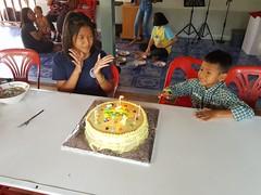 Church birthday celebrations for March 3 (SierraSunrise) Tags: birthdays cake celebrations christian church esarn isaan nongkhai phonphisai thailand