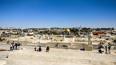 On the rooftops of Jerusalem (jbdodane) Tags: israel jerusalem jewishquarter middleeast oldcity rooftop templemount