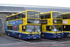 Dublin Bus AX568 06-D-30568 & AX569 06-D-30569 (Will Swain) Tags: dublin broadstone depot 16th june 2018 bus buses transport travel uk britain vehicle vehicles county country ireland irish city centre south southern capital ax568 06d30568 ax569 06d30569 ax 568 569