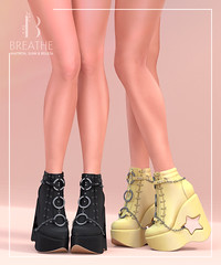 [BREATHE]-Koki@Fameshed ([Breathe]) Tags: breathe secondlife mesh heels slink maitreya belleza fameshed playgirl star boots booties