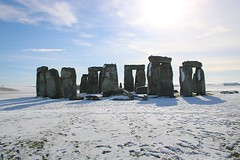 The Stones In Winter (crashcalloway) Tags: stonehenge neolithic stones stonecircle winter snow wiltshire sun sky countryside landscape landscapephotography