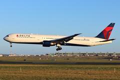 N831MH Delta Airlines, Boeing 767 @ Dublin Airport 2nd February 2019 (_Illusion450_) Tags: dub dublin airport eidw dublinairport aircraft airplane airline airlines aeroplane aeroport aviation avion flughafen n831mh delta boeing 767