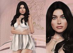 L258 (JoJo Delvalle - Photographer & blogger) Tags: secondlife game doll virtual 3d pink cute catwa amarabeauty ramasalon salon52 lotus wcf9 belleposes