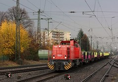 1501 (Daniel Wirtz) Tags: de dortmundereisenbahn captrain captraindeutschlandcargowestgmbh ccw g1206 mak vossloh 275 2750230 1501 dormagen 1001115