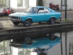 1974 Opel Manta (harry_nl) Tags: netherlands nederland 2018 delft opel manta 31au16 sidecode3