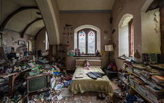 Hoarders House - A converted church someone was living in - Scotland