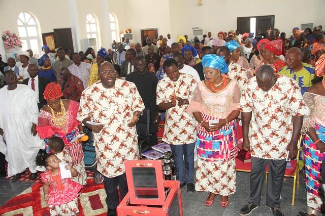 Hsdickson- Gov Dickson's Late Mother's Thanksgiving Service @ Palace Of Melchizedec, Toro-orua, Sagbama LGA Bayelsa State. 9th Dec 2018