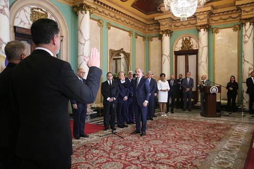 Presidente Danilo Medina juramenta nuevos jueces miembros Tribunal Constitucional