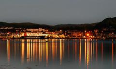 Caledonian MacBrayne (dmunro100) Tags: scotland summer oban ferry longexposure still reflections calm caledonianmacbrayne