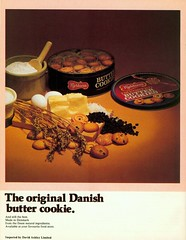 (Will S.) Tags: scans 70scookbook cookbook advertisements 70sadvertisements 70sads theworldatyourtablescandinaviancookingsavorydishesfromthefournorthernsistersdenmarkfinlandnorwaysweden roundtheworldbooks 1978 danishbuttercookies