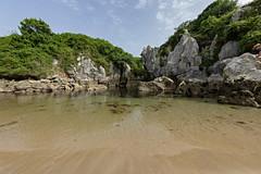Gulpiyuri Beach 5 (Nino Olivieri) Tags: españa playadegulpiyuri asturias spagna asturie spiaggiadigulpiyuri spain gulpiyuribeach acqua mare water sea